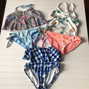 Swim Suit Bundle Gianni Bini and Old Navy